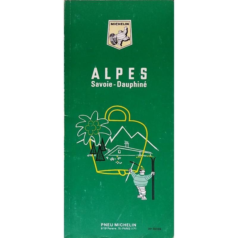 Guide de tourisme Michelin : Alpes, Savoie-Dauphiné - 1968