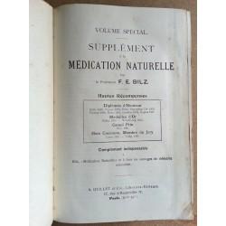 Friedrich Eduard Bilz - La nouvelle médication naturelle, 3 Tomes