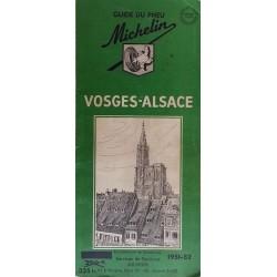 Guide de tourisme Michelin : Vosges - Alsace - 1951