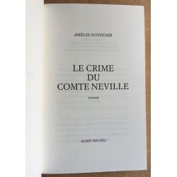 Amélie Nothomb - Le crime du comte Neville