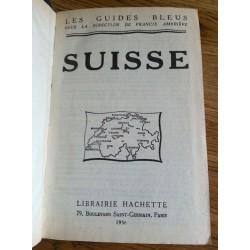 Suisse - Les guides bleus