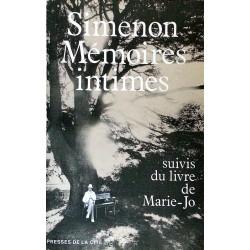 Georges Simenon - Mémoires intimes