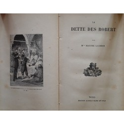 Mlle Marthe Lachèse - La dette des Robert