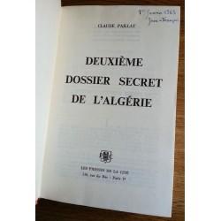 Claude Paillat - Deuxième dossier secret de l'Algérie 1954 - 1958