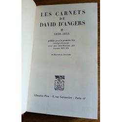 David D'Angers - Les carnets de David D'Angers, Tome 2 : 1838-1855