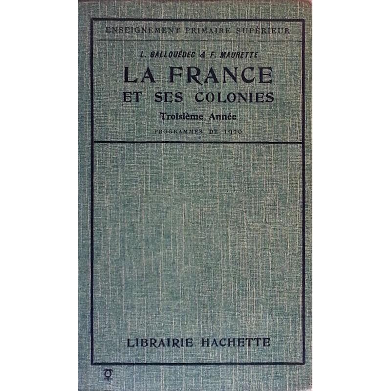 La France et ses colonies, Troisième année
