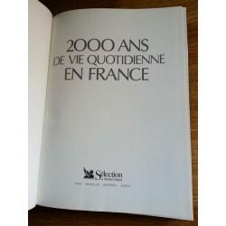 2000 ans de vie quotidienne en France