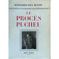 Paul Buttin - Le procès Pucheu