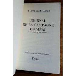 Général Moshé Dayan - Journal de la campagne du Sinaï