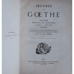 Œuvres de Goethe