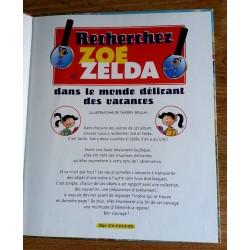 Thierry Boulay - Recherchez Zoé et Zelda dans le monde délirant des vacances