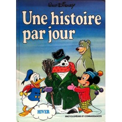 """Walt Disney - Une histoire par jour """"Hiver"""""""