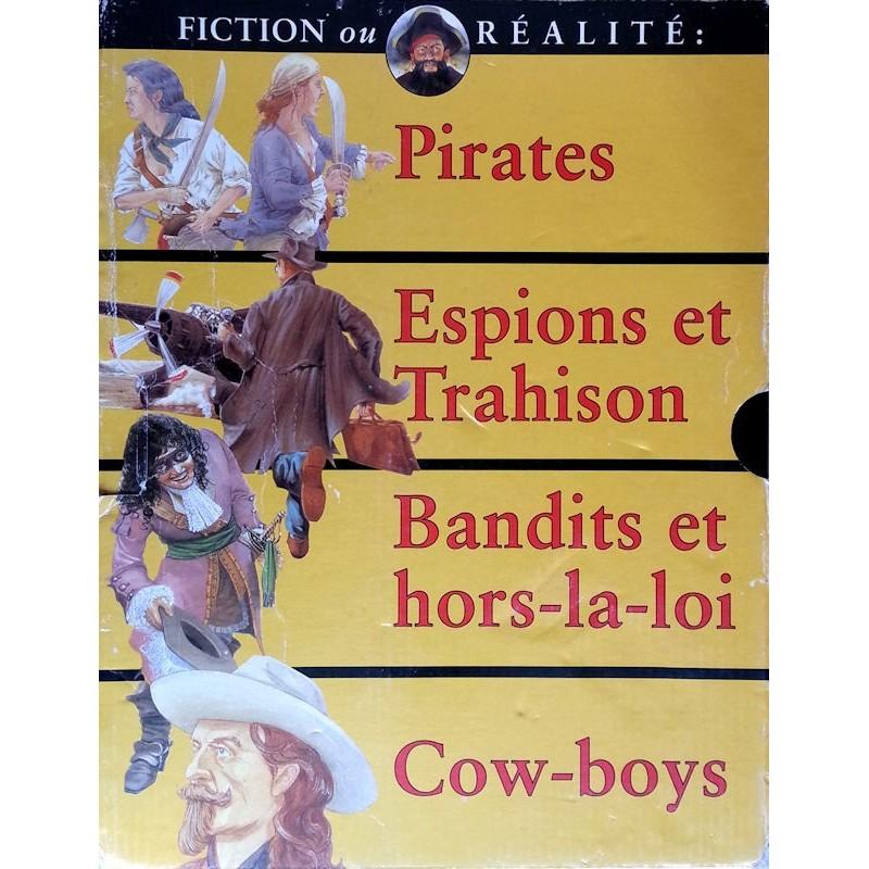 Fiction ou réalité : Coffret 4 livres