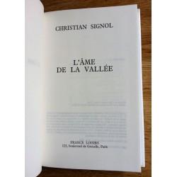 Christian Signol - L'Âme de la vallée