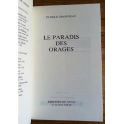 Patrick Grainville - Le paradis des orages