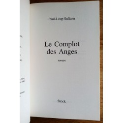 Paul-Loup Sulitzer - Le Complot des Anges