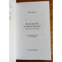 Marc Robine - Il était une fois la chanson française