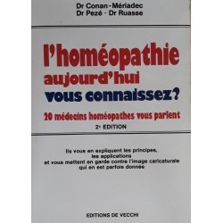 Collectif - L'homéopathie aujourd'hui vous connaissez ?