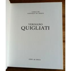 Carlo Bo & Raffaele de Grada - Verdiano Quigliati