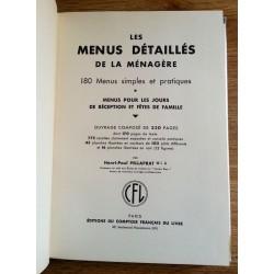 Henri-Paul Pellaprat - Les menus détaillés de la ménagère