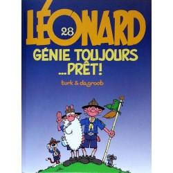 Turk & De Groot - Léonard, Tome 28 : Génie toujours... prêt !