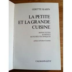 Odette Kahn - La petite et la grande cuisine