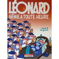 Turk & De Groot - Léonard, Tome 5 : Génie à toute heure