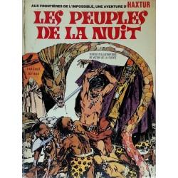 Victor de La Fuente - Aux frontières de l'impossible, une aventure d'Haxtur, Tome 1 : Les peuples de la nuit