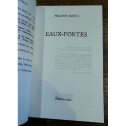 Philippe Meyer - Eaux-fortes