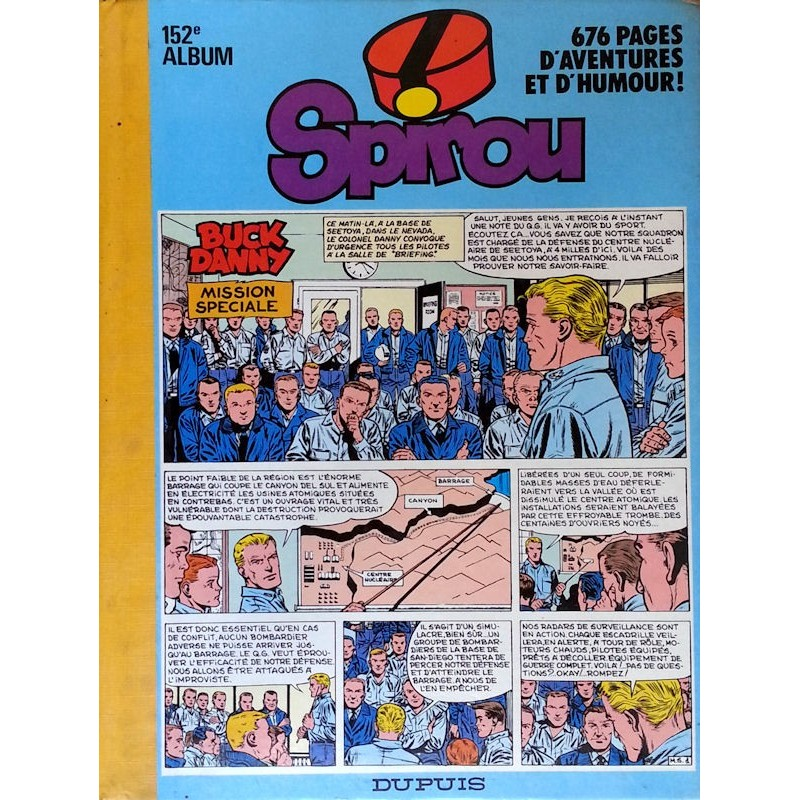 Recueil Spirou N°152