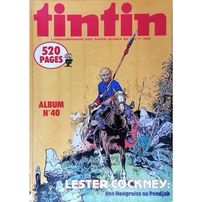 Recueil Tintin N°40