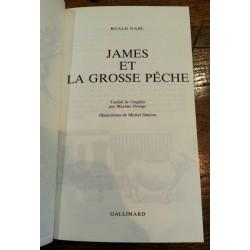 Roald Dahl - James et la grosse pêche