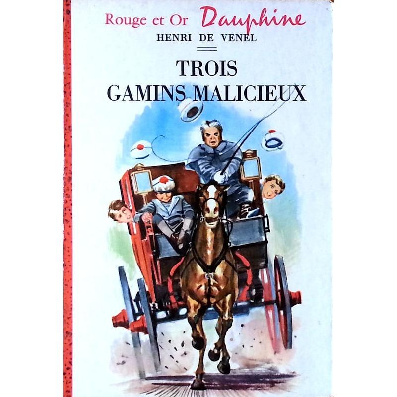Henri de Venel - Trois gamins malicieux