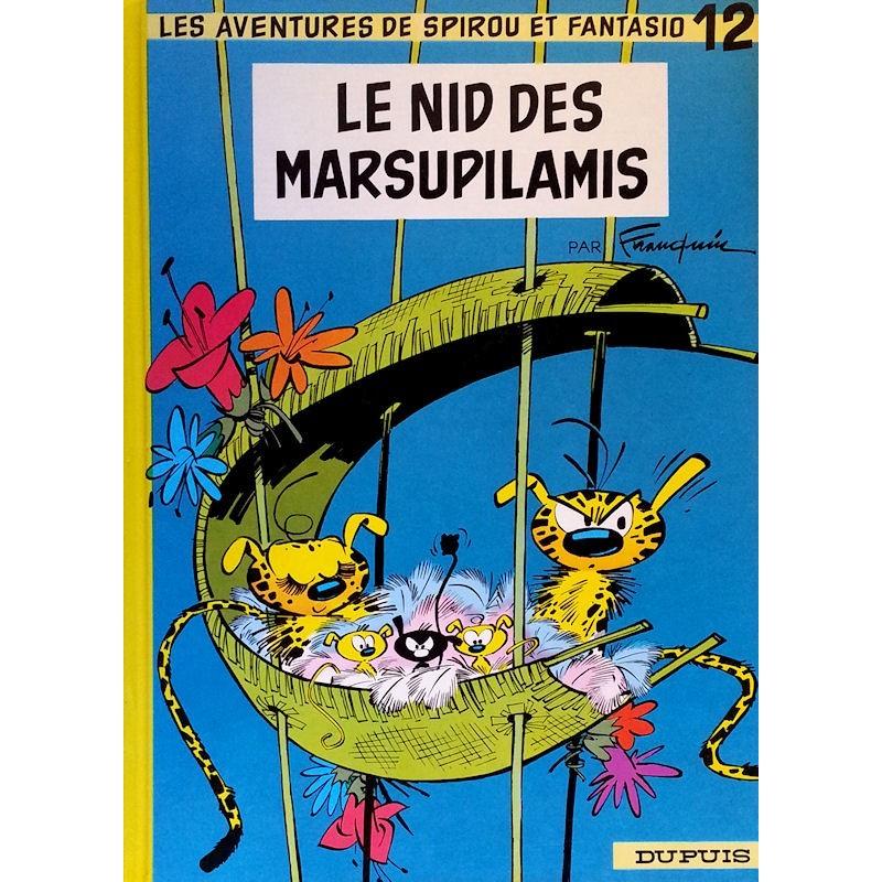 Franquin - Les aventures de Spirou et Fantasio, Tome 12 : Le nid des Marsupilamis