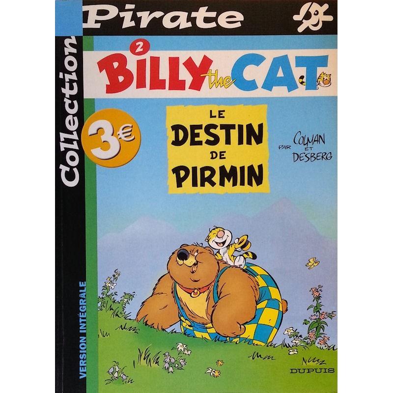 Colman & Desberg - Billy the cat, Tome 2 : Le destin de Pirmin