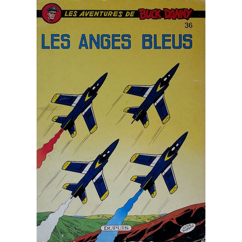 Charlier & Hubinon - Les aventures de Buck Danny, Tome 36 : Les anges bleus