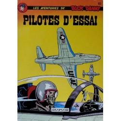 Charlier & Hubinon - Les aventures de Buck Danny, Tome 10 : Pilotes d'essai