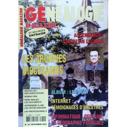 Généalogie Magazine n°231 - Novembre 2003