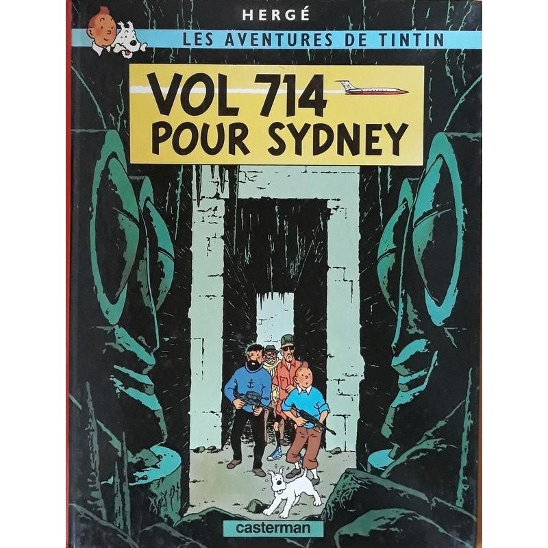 Hergé - Tintin, Tome 22 : Vol 714 pour Sydney