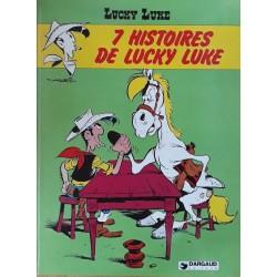 Morris & Goscinny - Lucky Luke, Tome 15 : 7 histoires de Lucky Luke