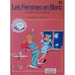 Bercovici & Cauvin - Les femmes en blanc, Tome 21 : Corps de garde