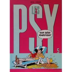Bédu & Cauvin - Les PSY, Tome 5 : Vous aviez rendez-vous ?