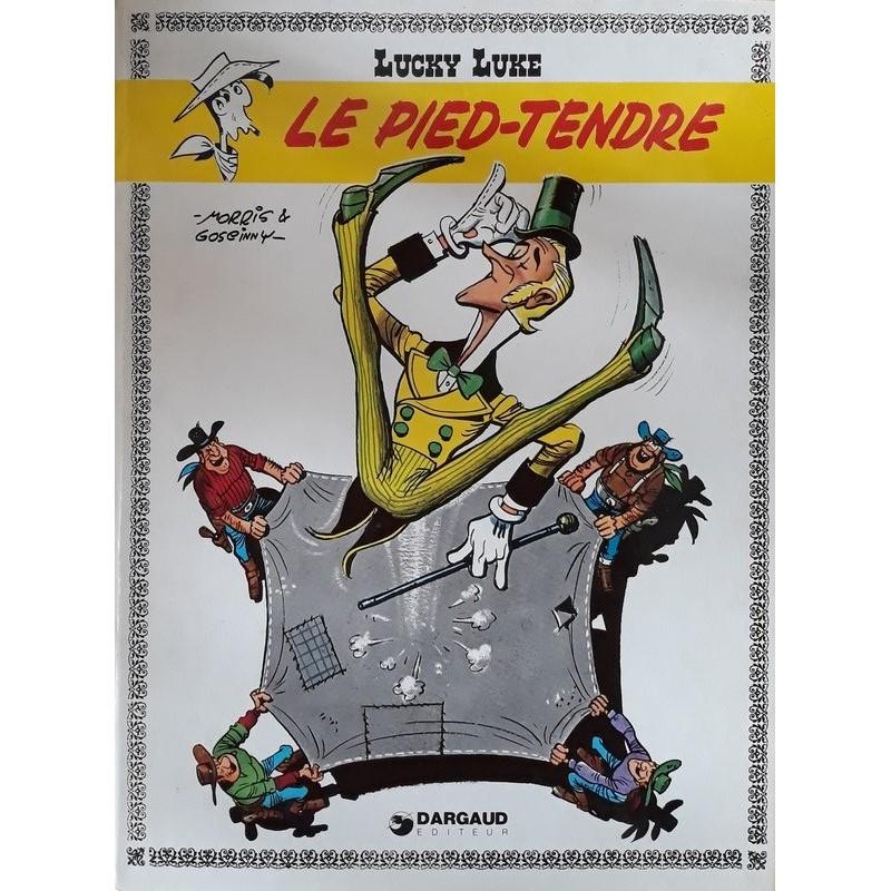 Morris & Goscinny - Lucky Luke, Tome 2 : Le pied-tendre