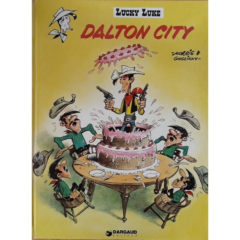 Morris & Goscinny - Lucky Luke, Tome 3 : Dalton city