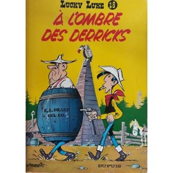 Morris - Lucky Luke, Tome 18 : À l'ombre des derricks