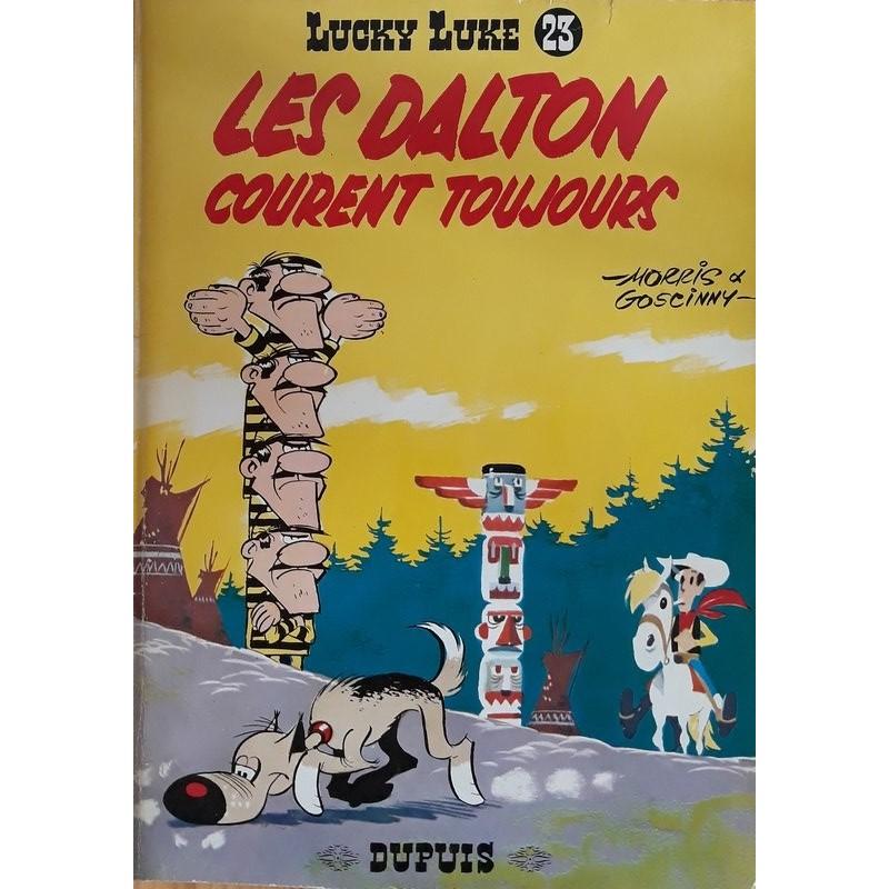 Morris & Goscinny - Lucky Luke, Tome 23 : Les Dalton courent toujours