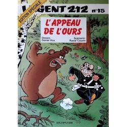 Kox & Cauvin - L'agent 212 (Tome 15) : L'appeau de l'ours
