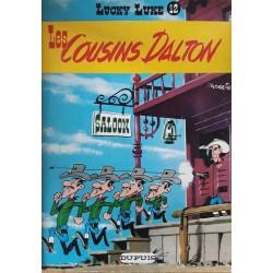 Morris - Lucky Luke, Tome 12 : Les cousins Dalton