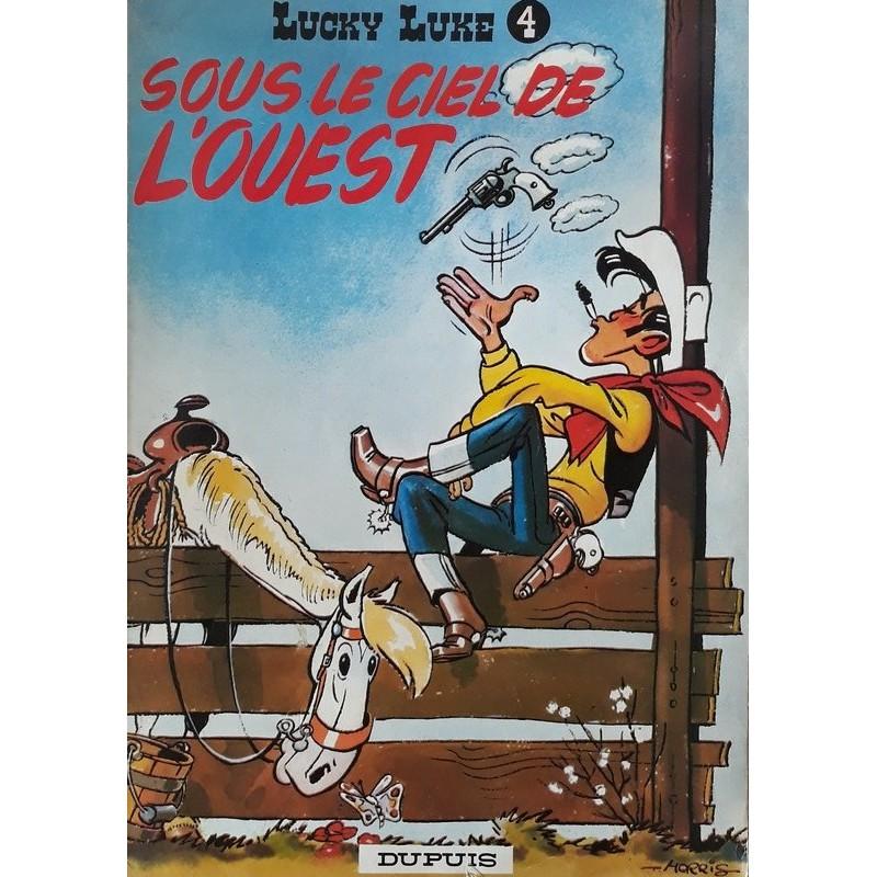 Morris - Lucky Luke, Tome 4 : Sous le soleil de l'ouest