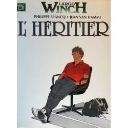 Philippe Francq & Jean Van Hamme - Largo Winch, Tome 1 : L'Héritier (Broché)